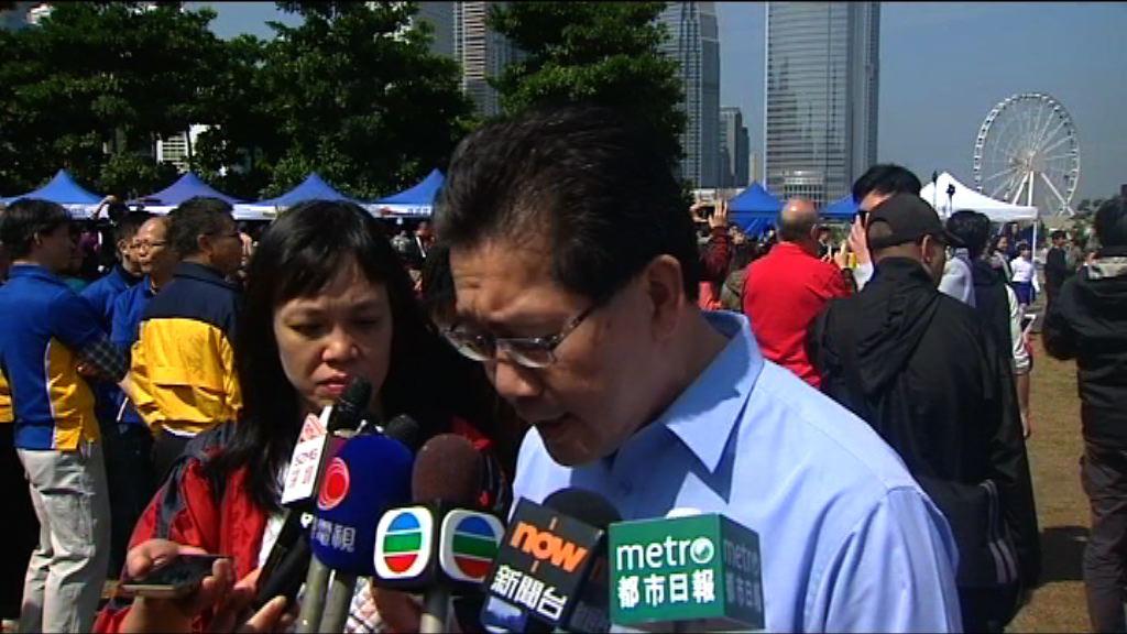 蘇錦樑批評陳志全再提休會辯論