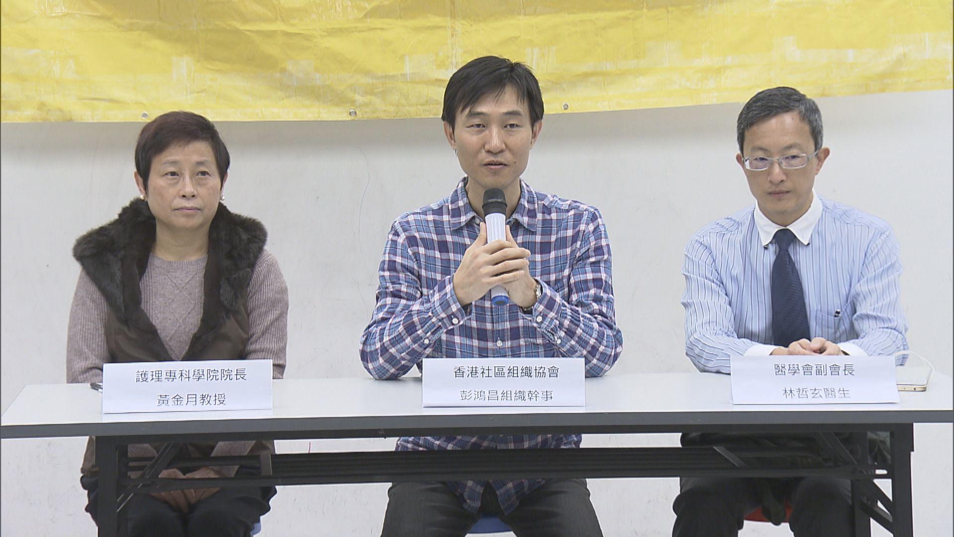 社區組織協會:病人福祉因罷工無辜受害