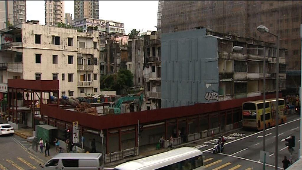 社聯擬南昌街建三幢組合屋