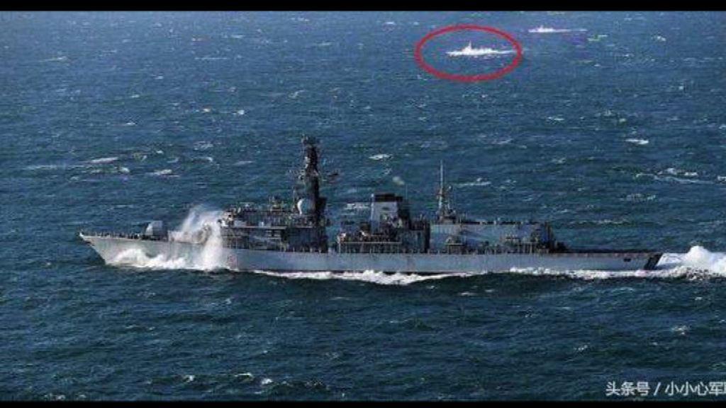 英軍艦南海遭16艘中國軍艦包圍