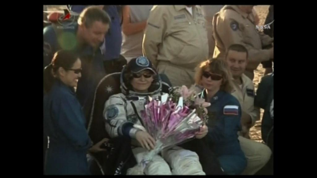 女太空人創逗留太空時間最長紀錄