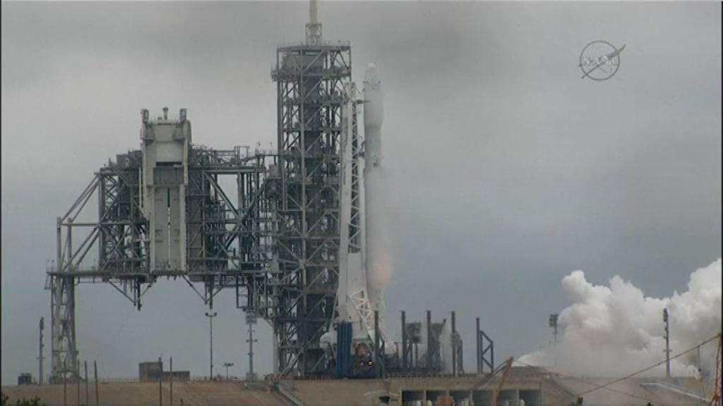 SpaceX成功回收「獵鷹九號」火箭