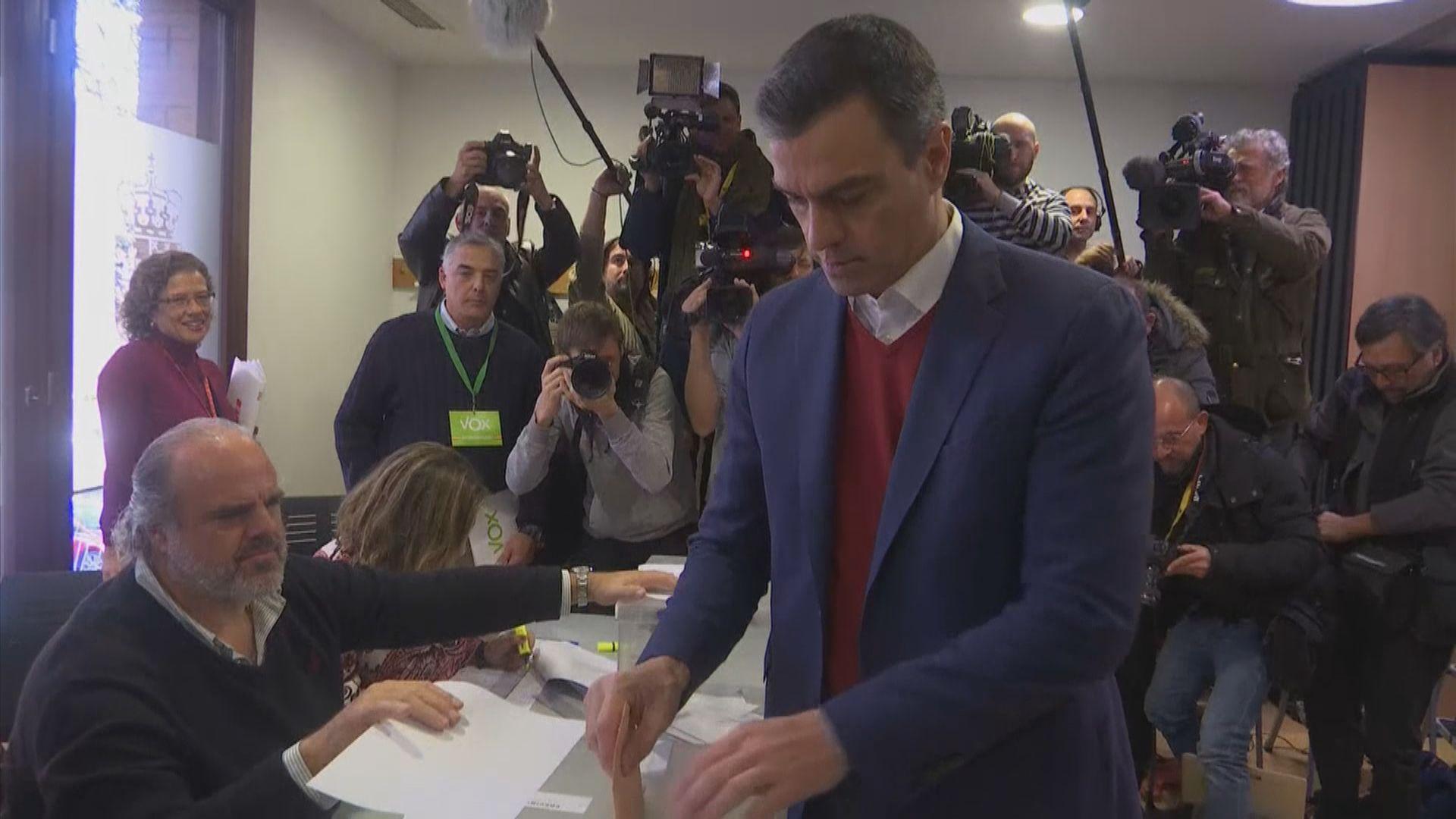 西班牙大選 料執政黨勝出但議席減少