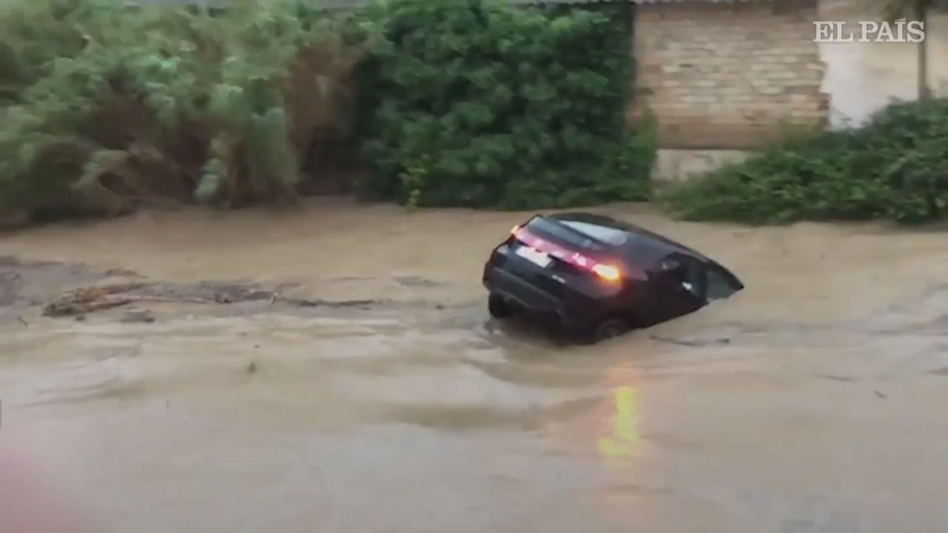 西班牙北部暴雨成災最少一死