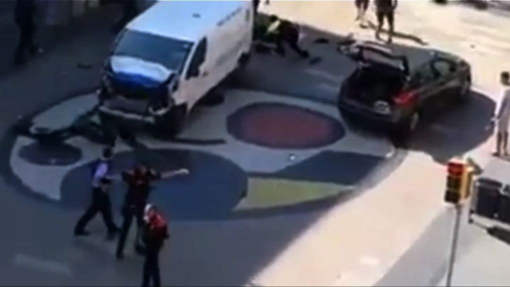 西班牙恐襲 施襲車輛於襲擊前數天曾到巴黎