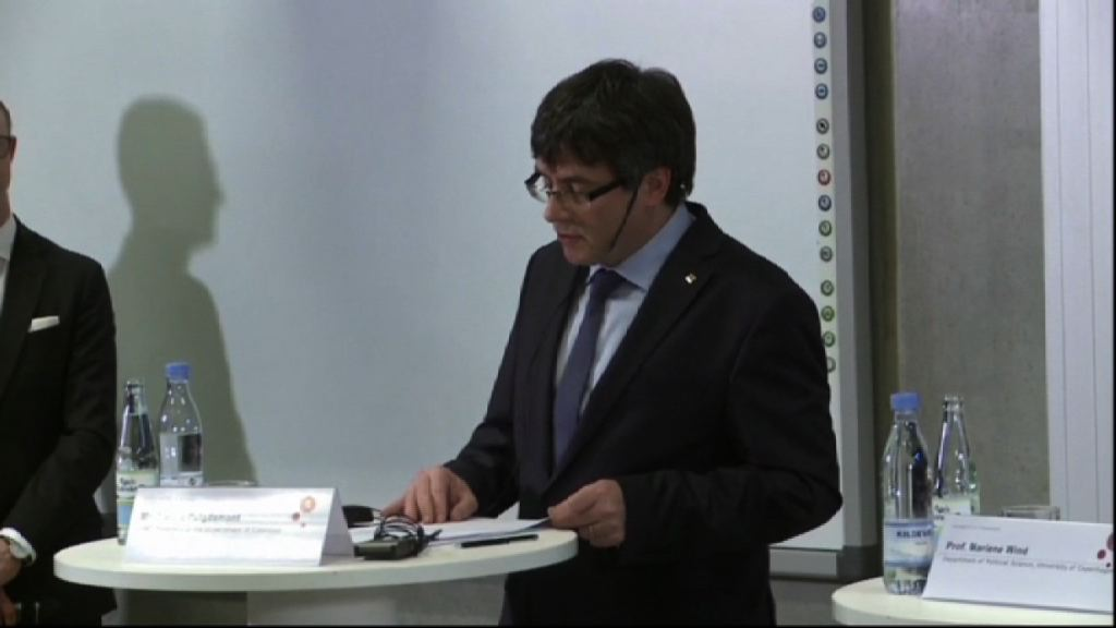 加泰議會提名普伊格蒙特任自治區主席