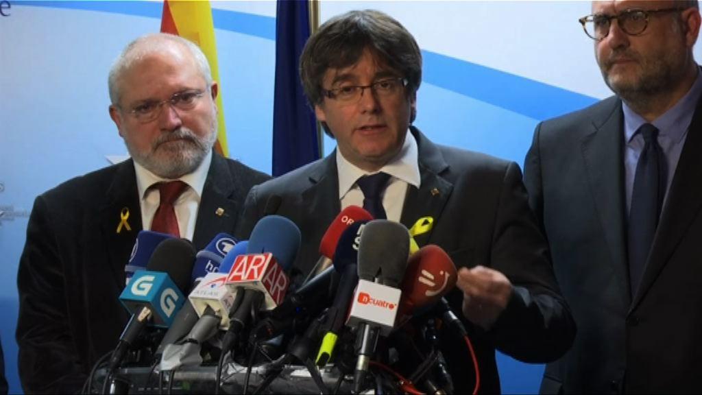加泰前主席籲西班牙容許其返國