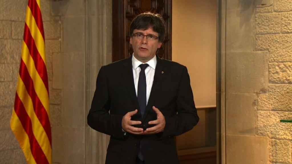 加泰羅尼亞自治區主席促馬德里接受調停