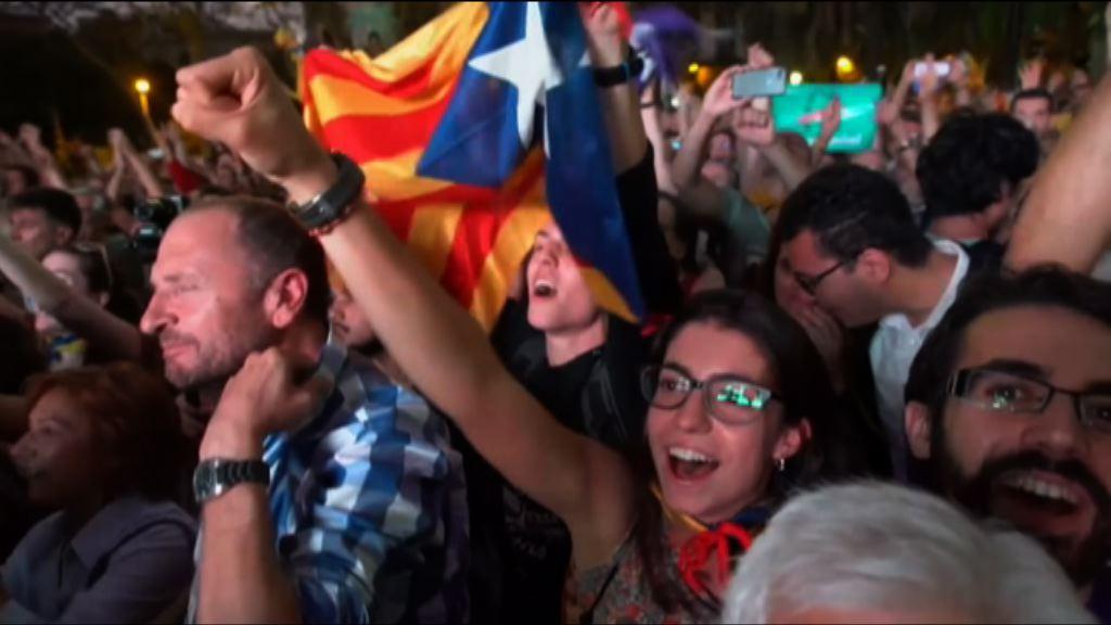 加泰羅尼亞暫緩宣布獨立冀與馬德里政府對話