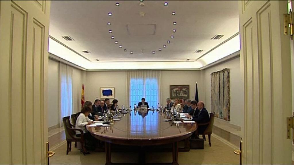 西班牙政府促加泰先釐清是否已宣布獨立