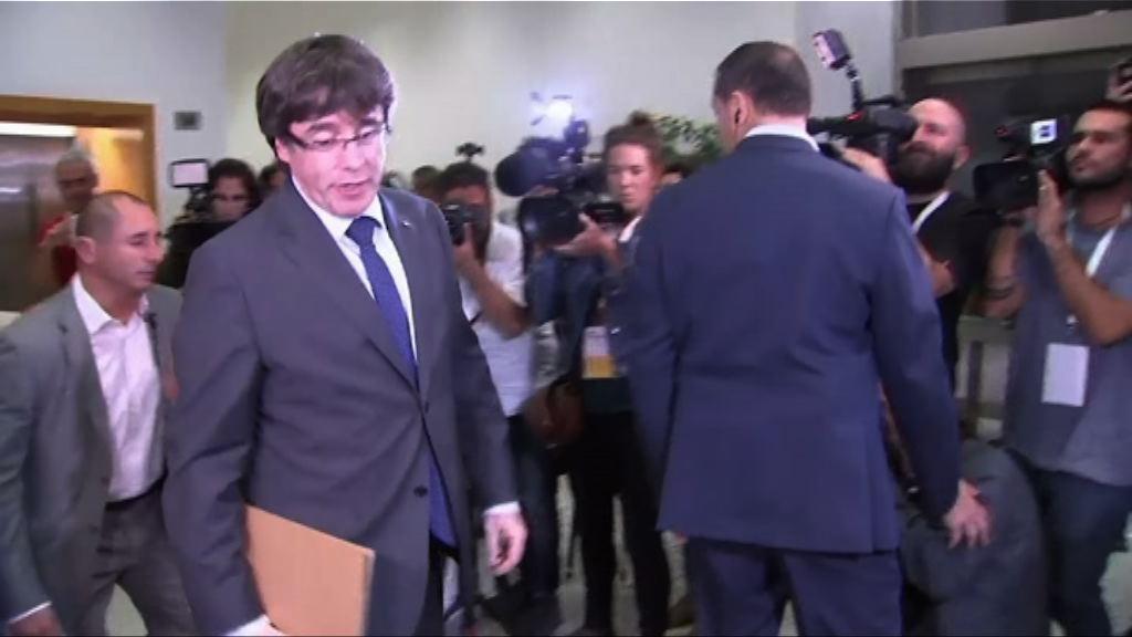 西班牙政府周六開會商討如何取回加泰自治權