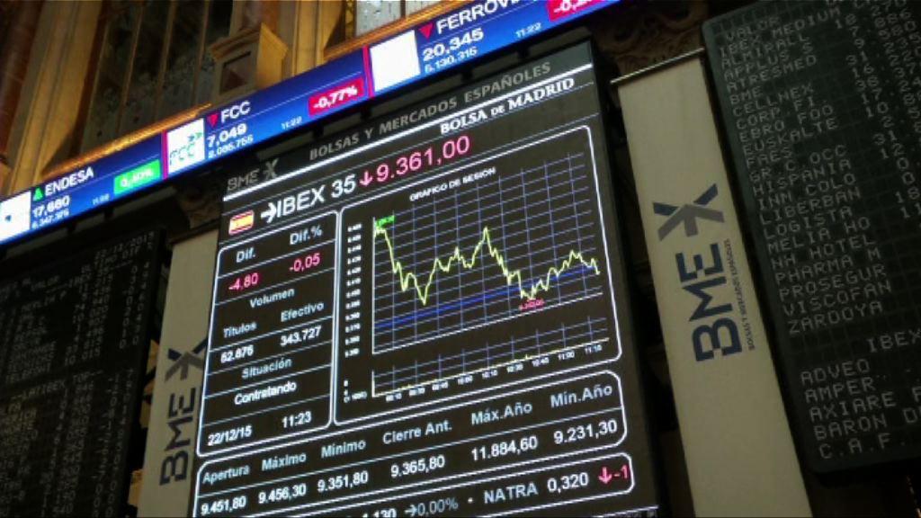 加泰羅尼亞危機 西班牙股市下挫