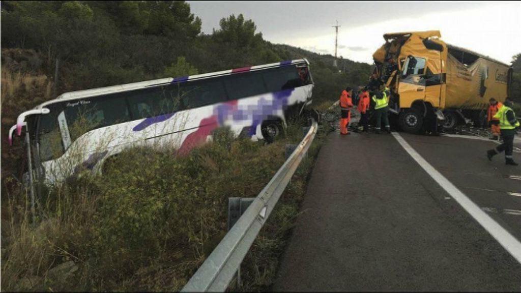西班牙車禍 一港人受傷