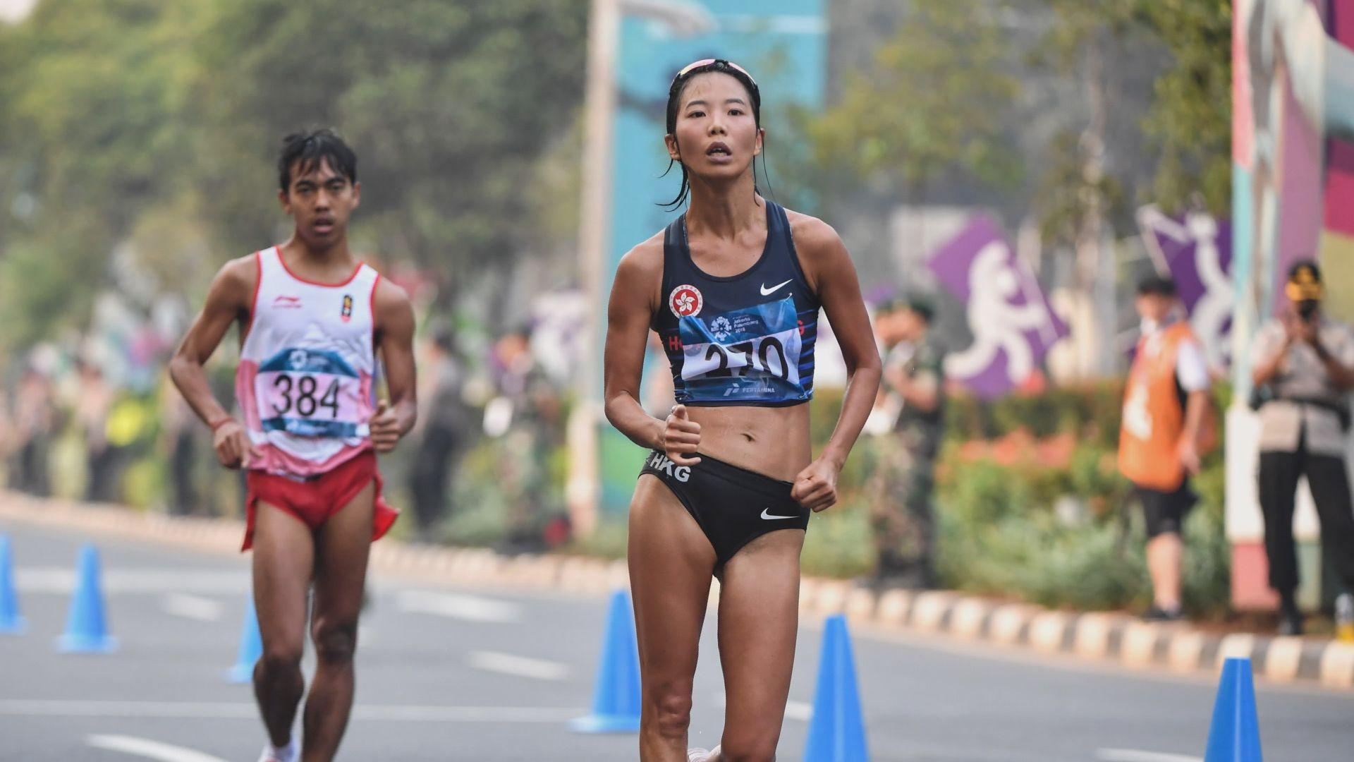 亞運女子20公里競步港隊程小雅第六