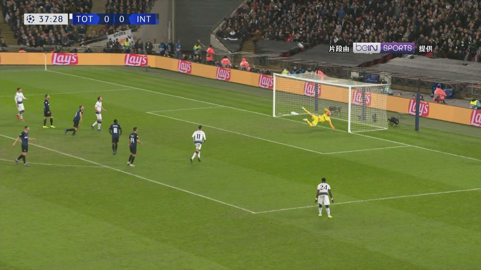 歐聯 熱刺1:0國際米蘭