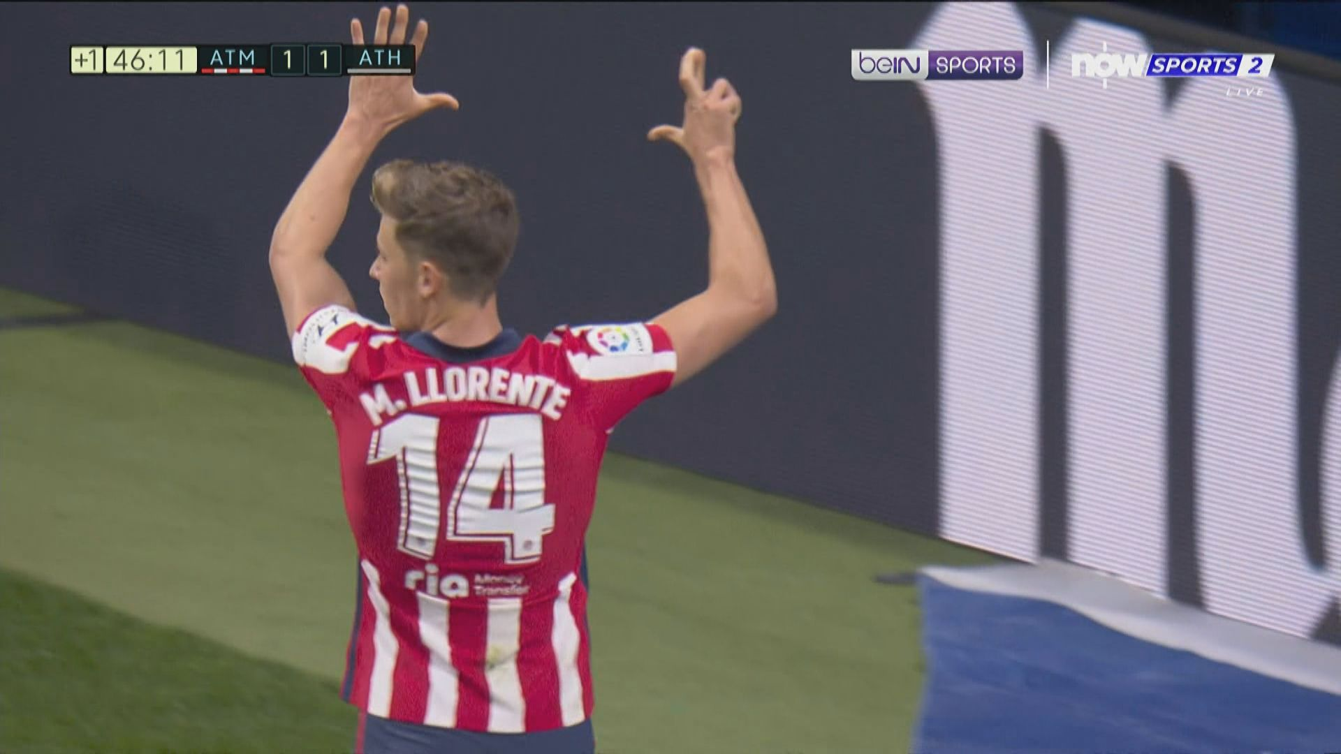 西甲 馬德里體育會2:1畢爾包