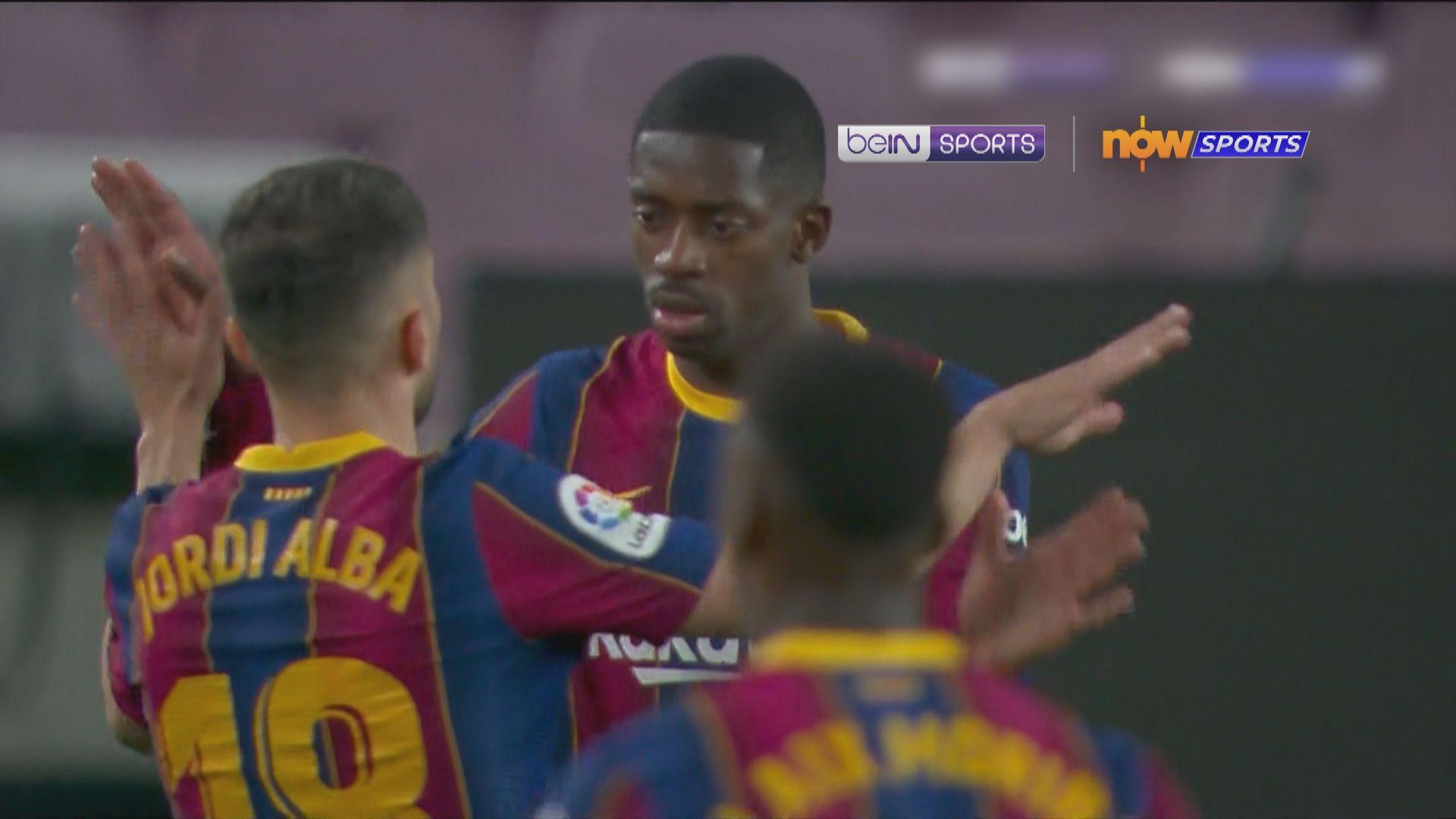 西甲 巴塞羅那1:0華拉度列