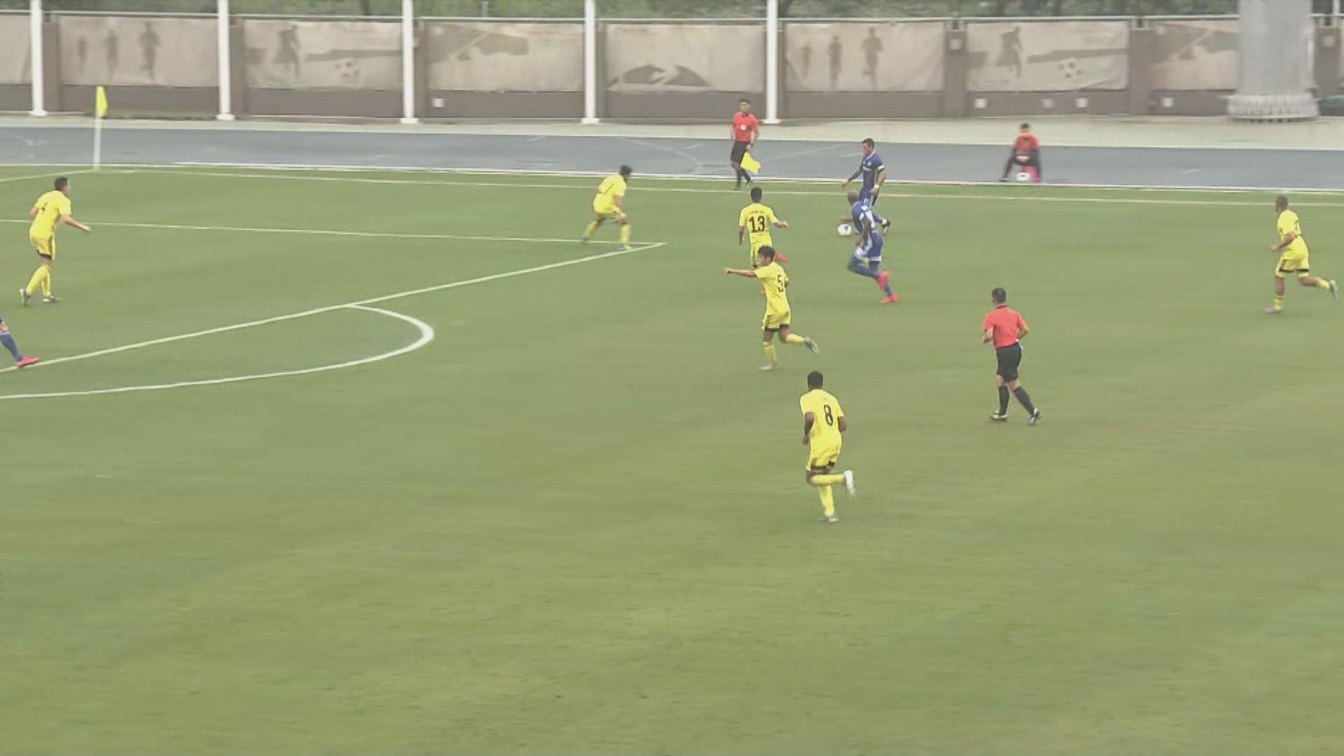 足總盃四強 東方龍獅5:0香港飛馬