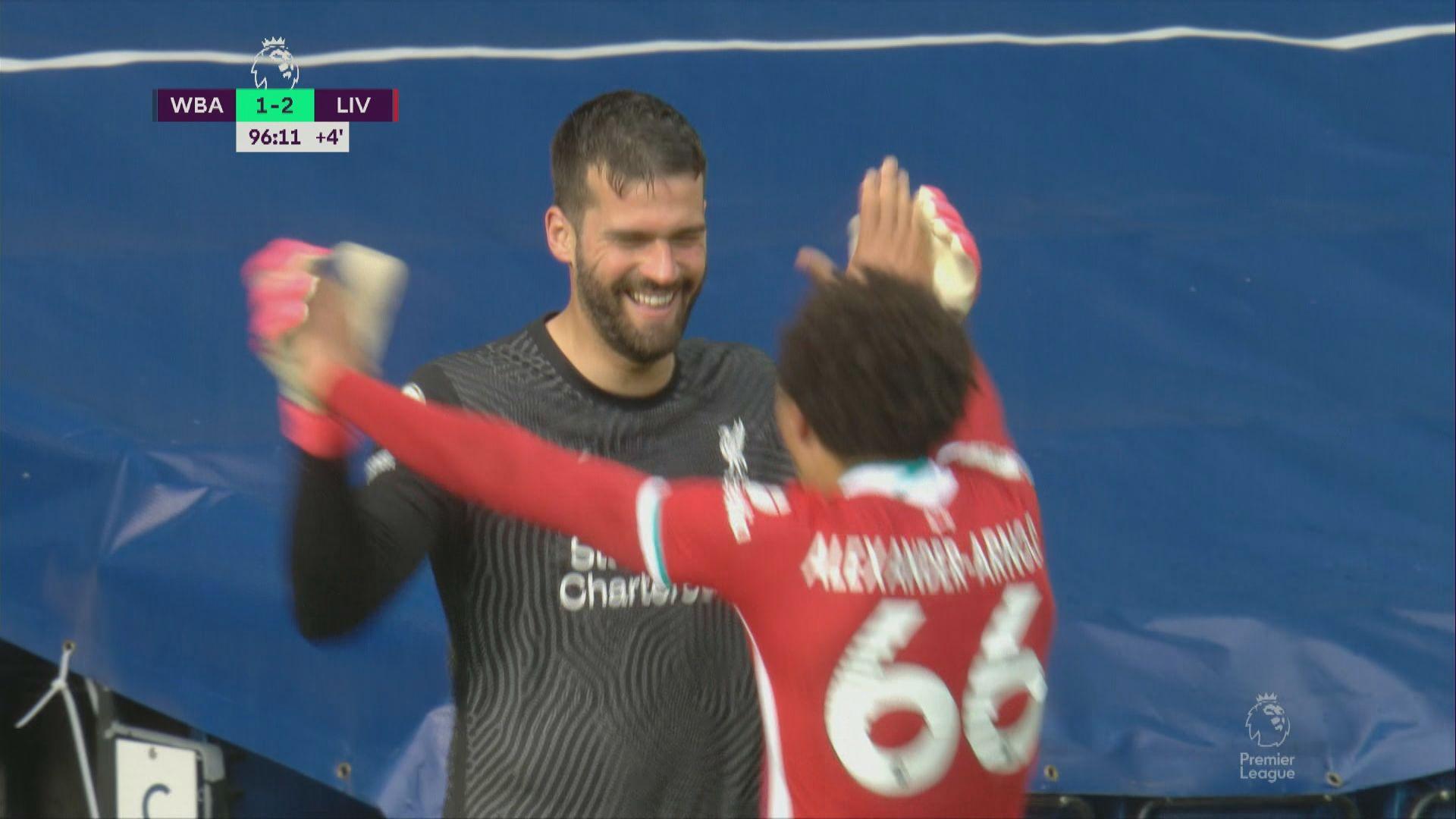 英超 西布朗1:2利物浦