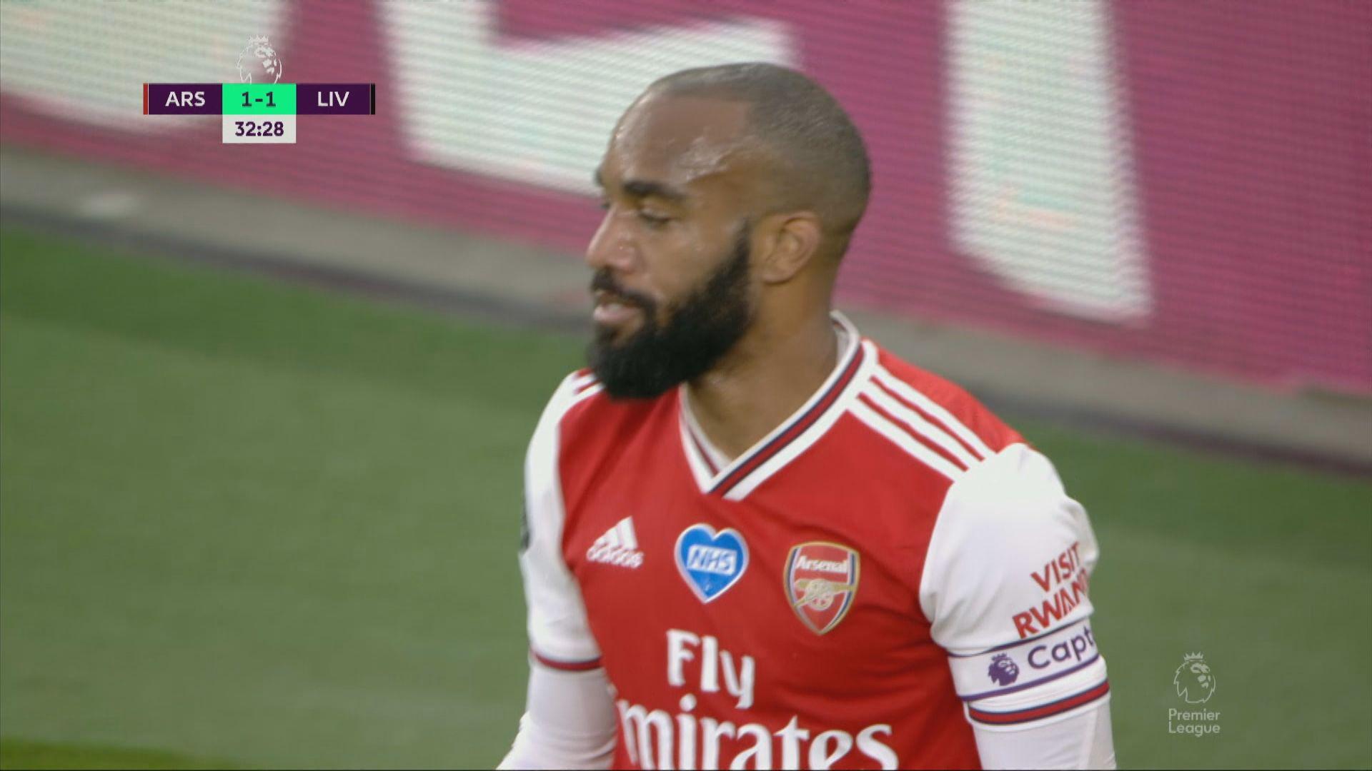英超 阿仙奴2:1利物浦