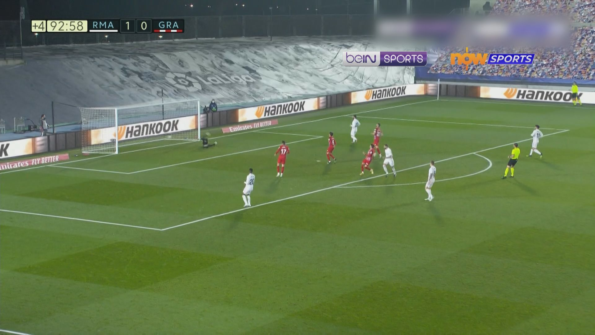 西甲 皇家馬德里2:0格拉納達