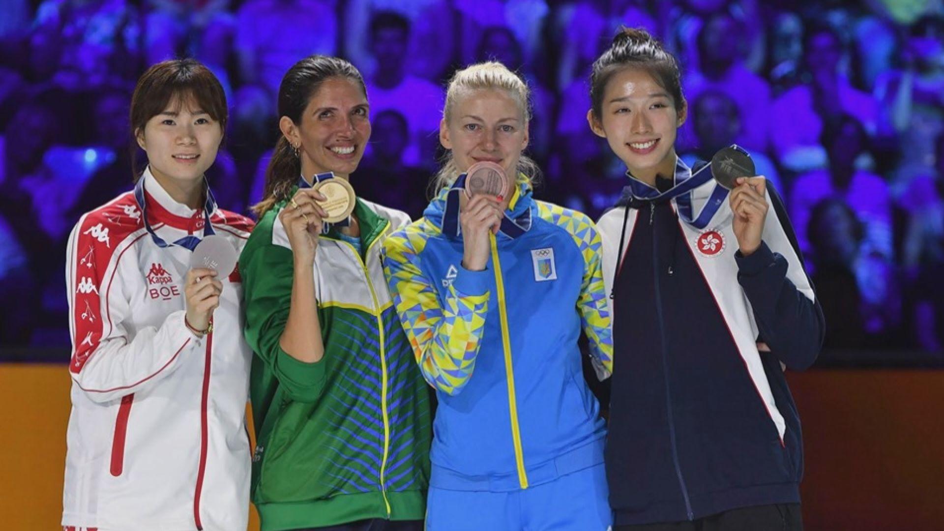 江旻憓世錦賽創歷史奪女重銅牌