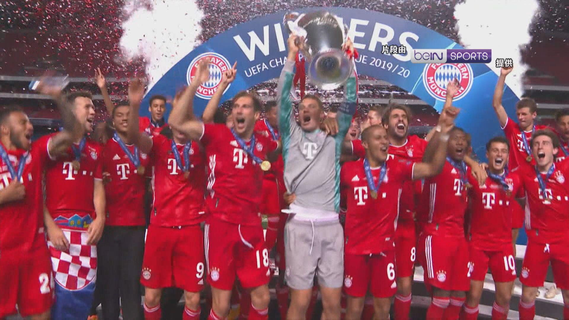 拜仁慕尼黑一球挫聖日耳門奪歐聯冠軍