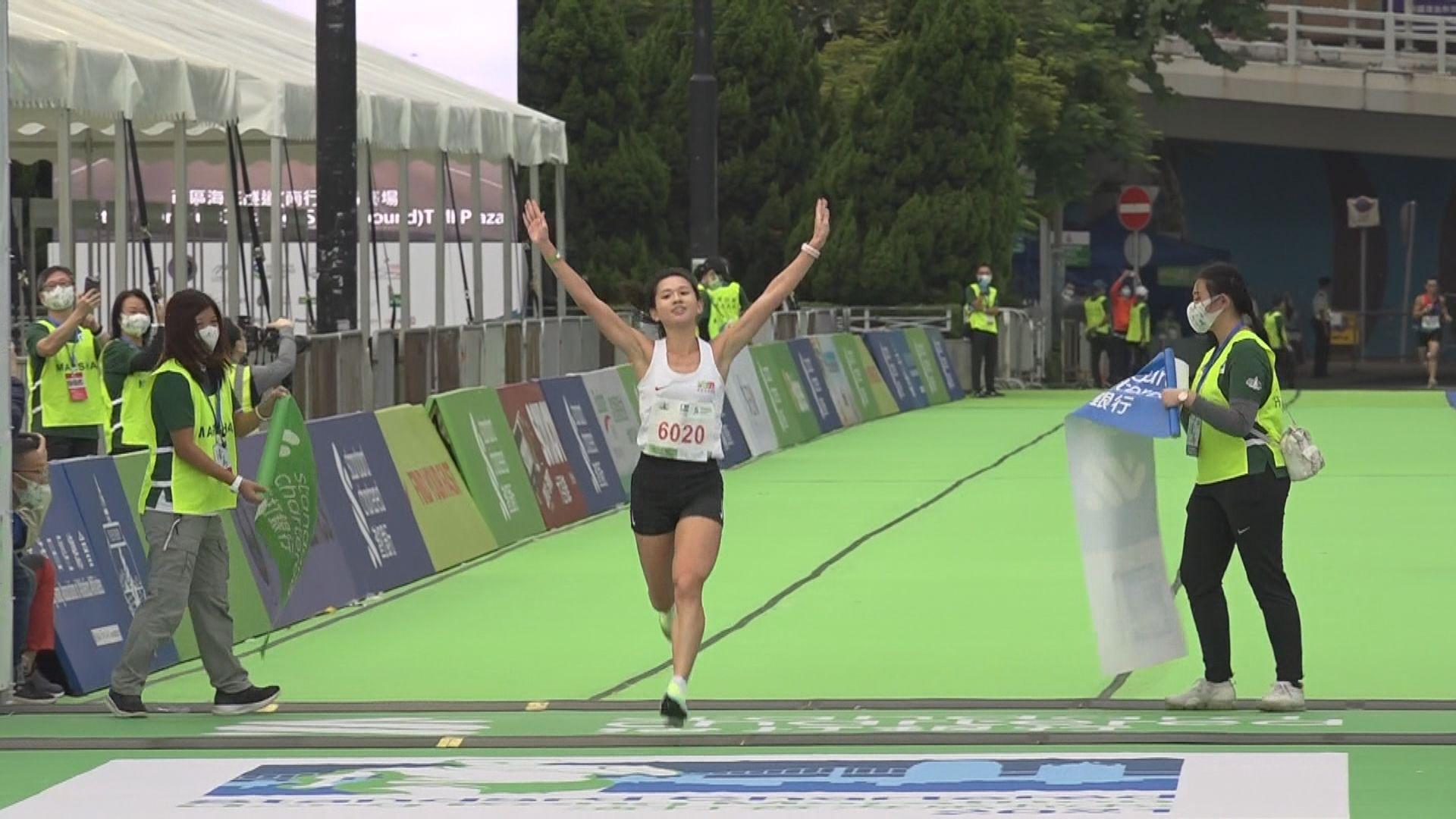 香港馬拉松黃啟樂首奪全馬男子組冠軍