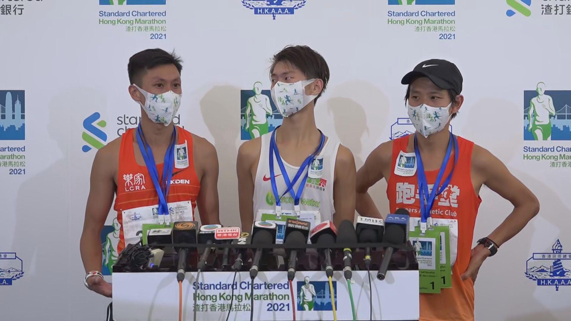 香港馬拉松 黃啟樂及姚潔貞首奪全馬男女子組冠軍
