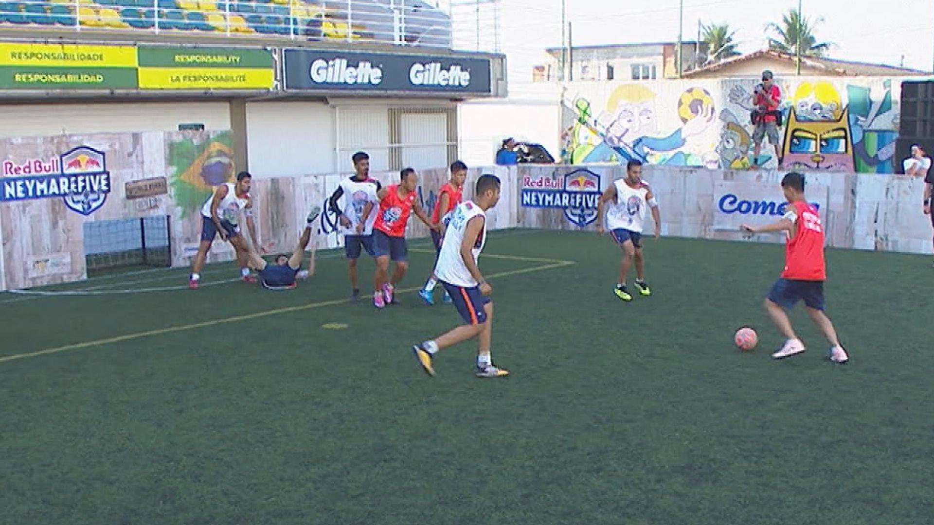 尼馬五人賽 虎聯足球隊分組賽止步