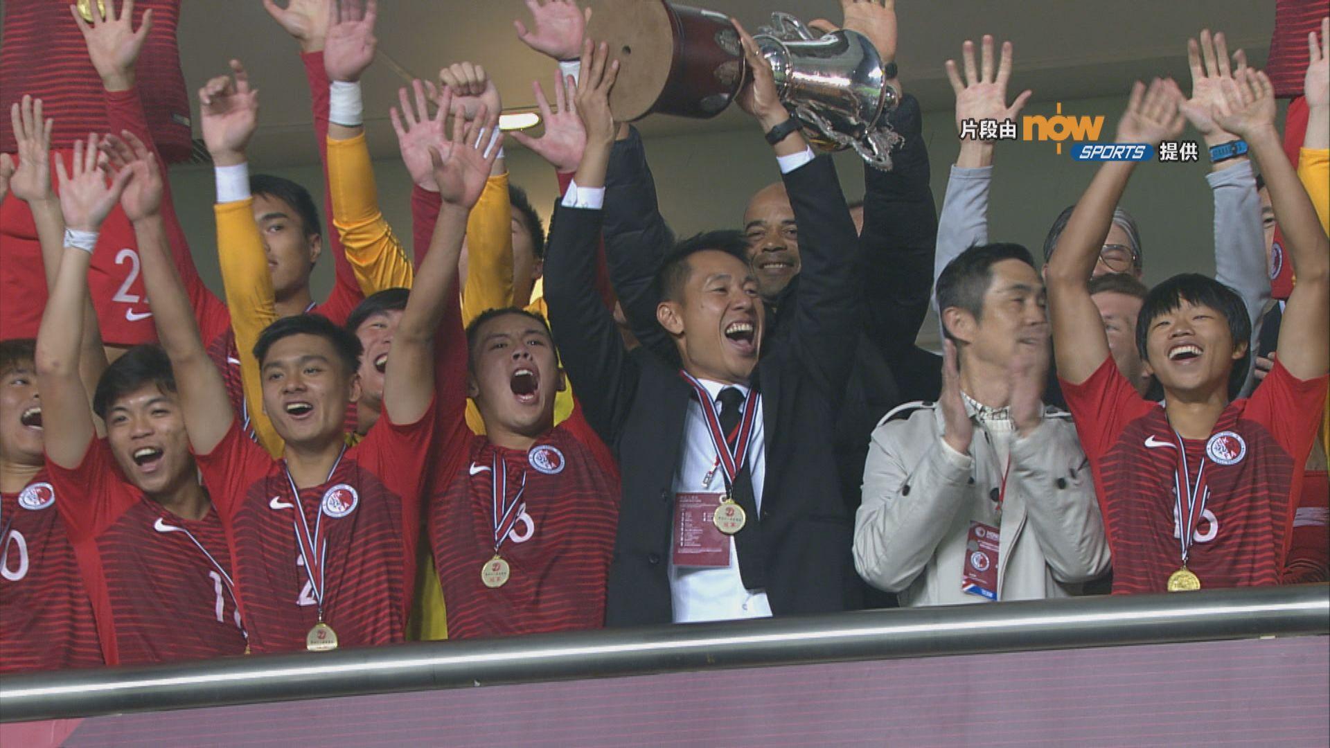省港盃 香港4:0廣東