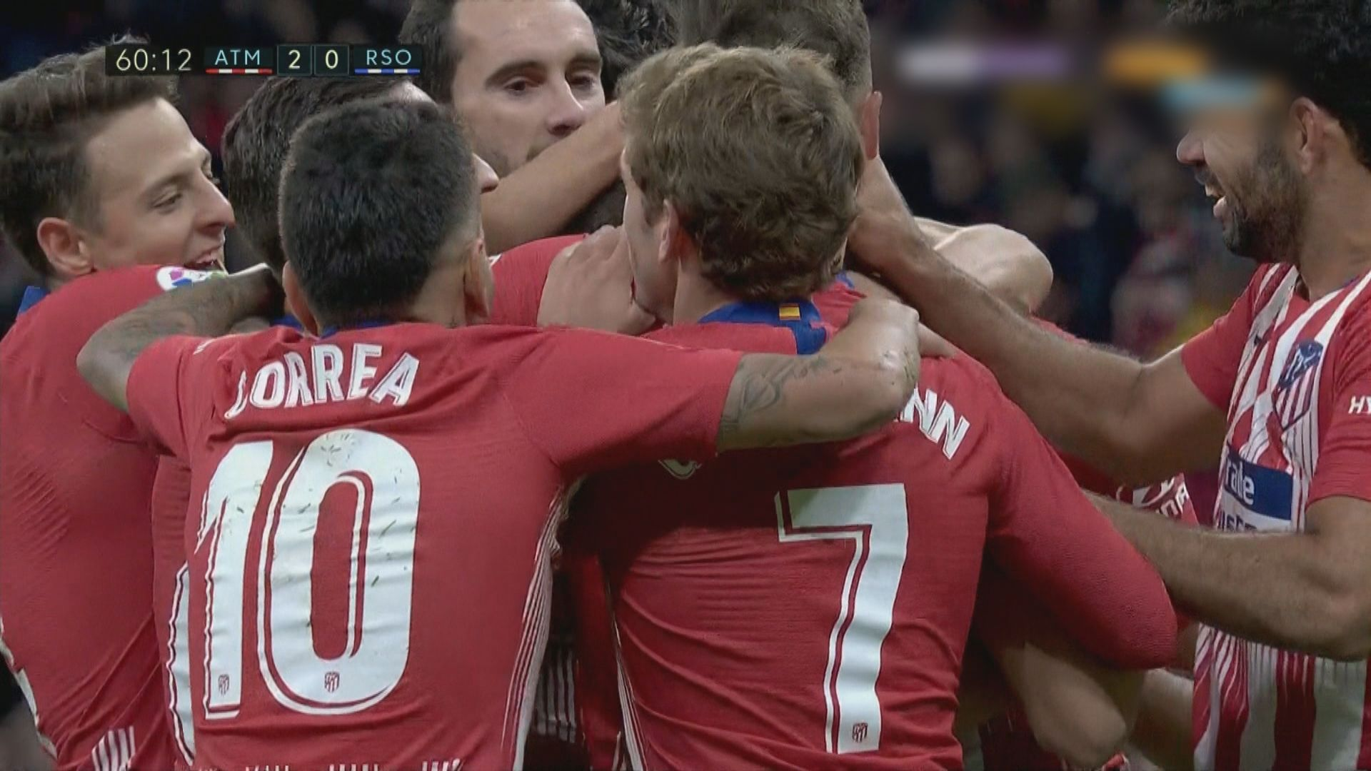 西甲 馬德里體育會 2:0 皇家蘇斯達