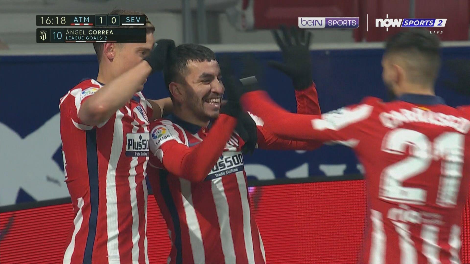 西甲 馬德里體育會2:0西維爾