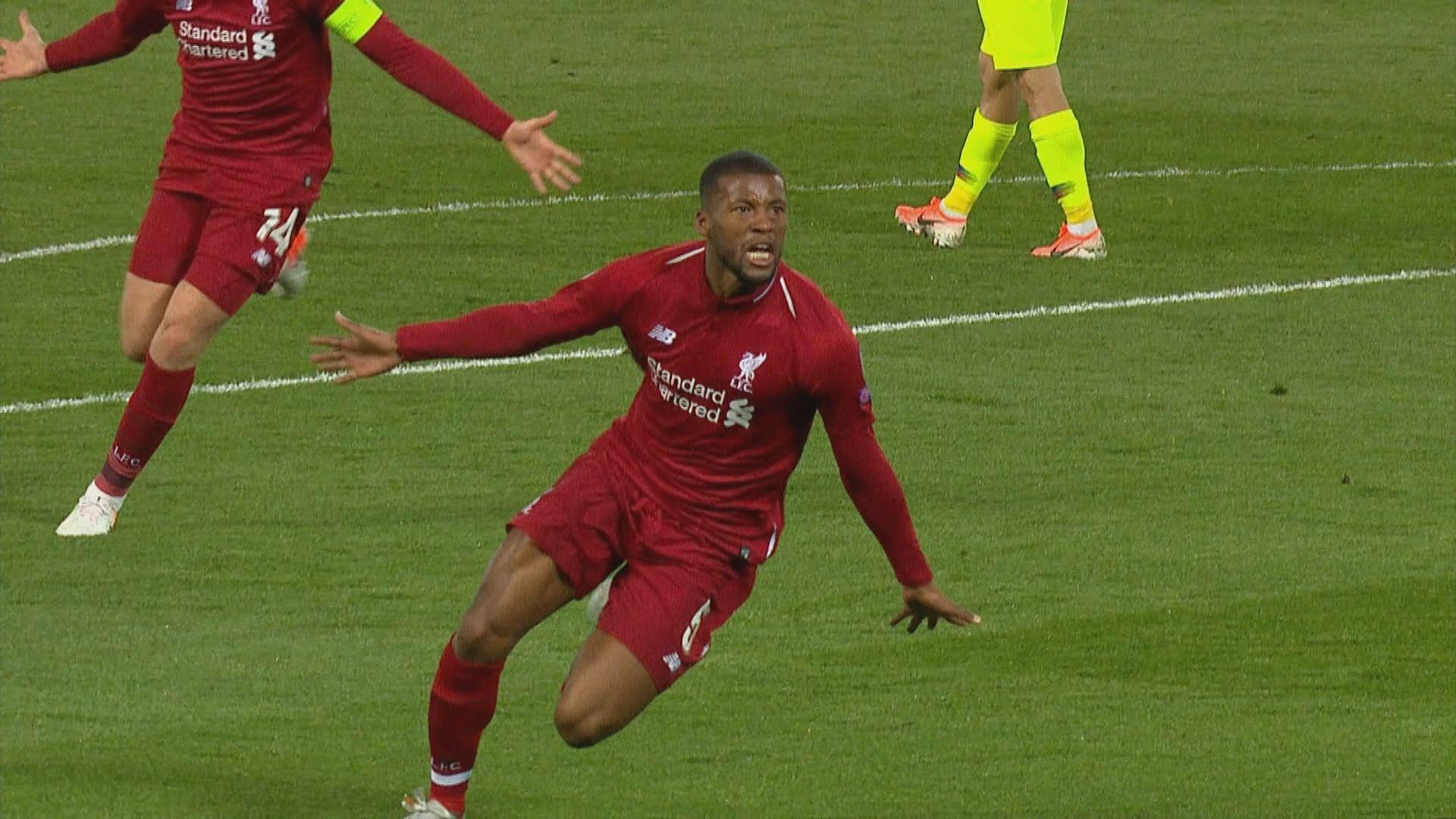 歐聯 利物浦大逆轉反勝巴塞殺入決賽