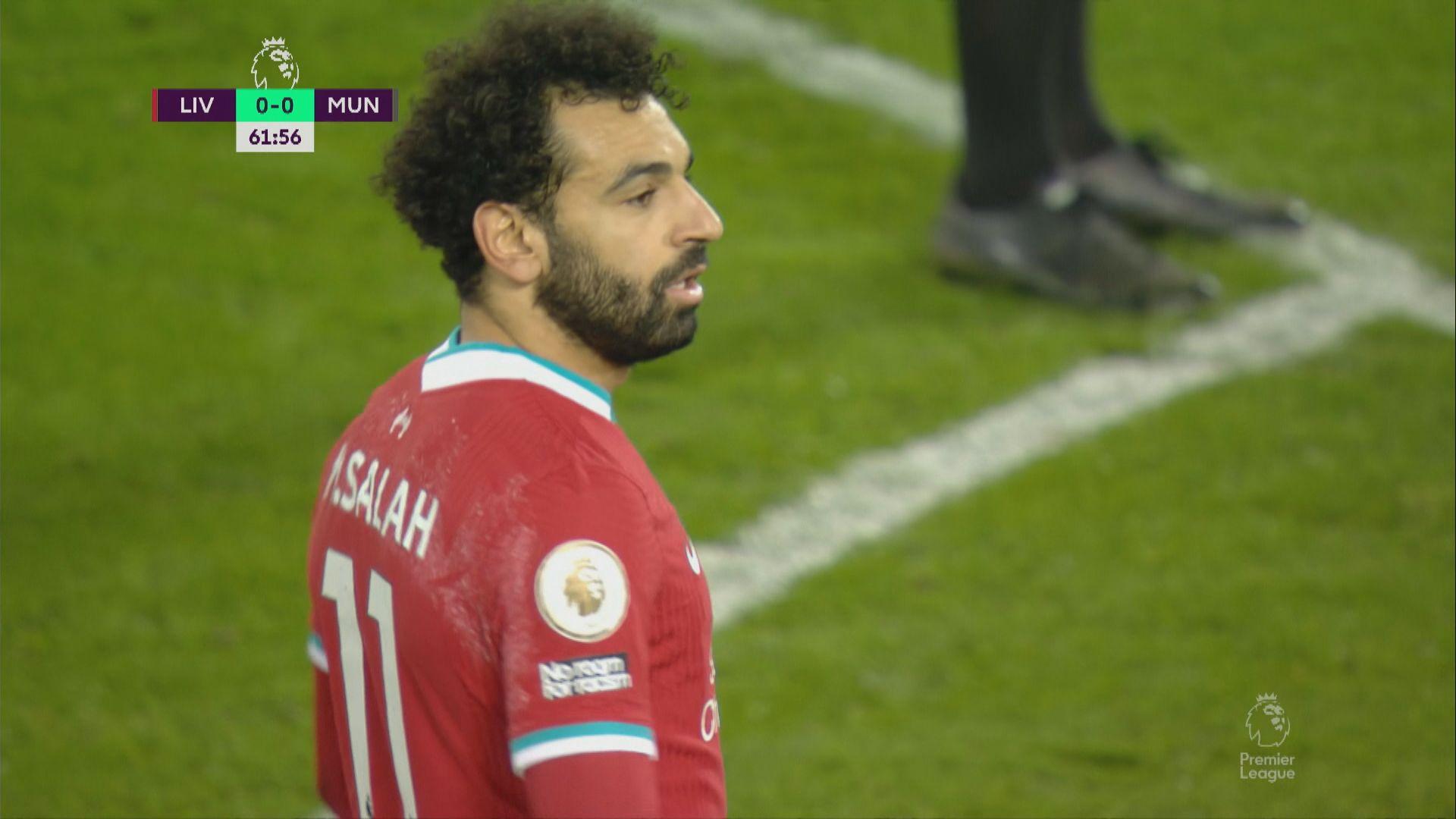 英超 利物浦0:0曼聯