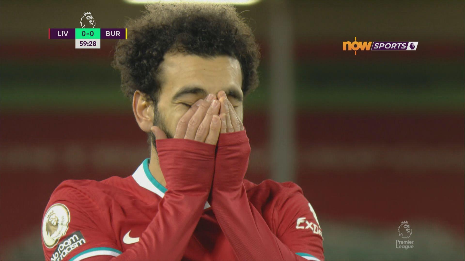 英超 利物浦0:1般尼