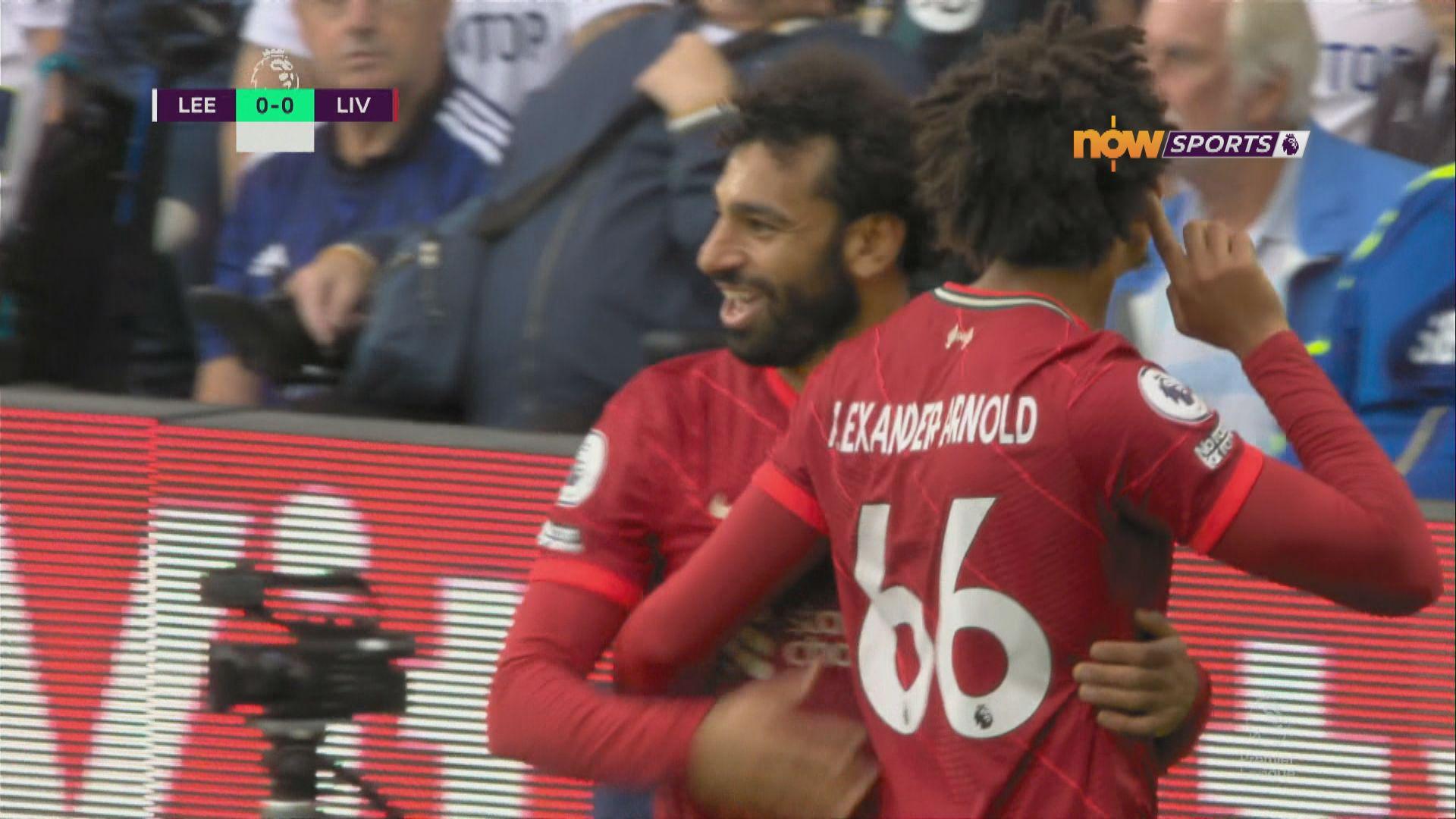 英超 列斯聯0:3利物浦