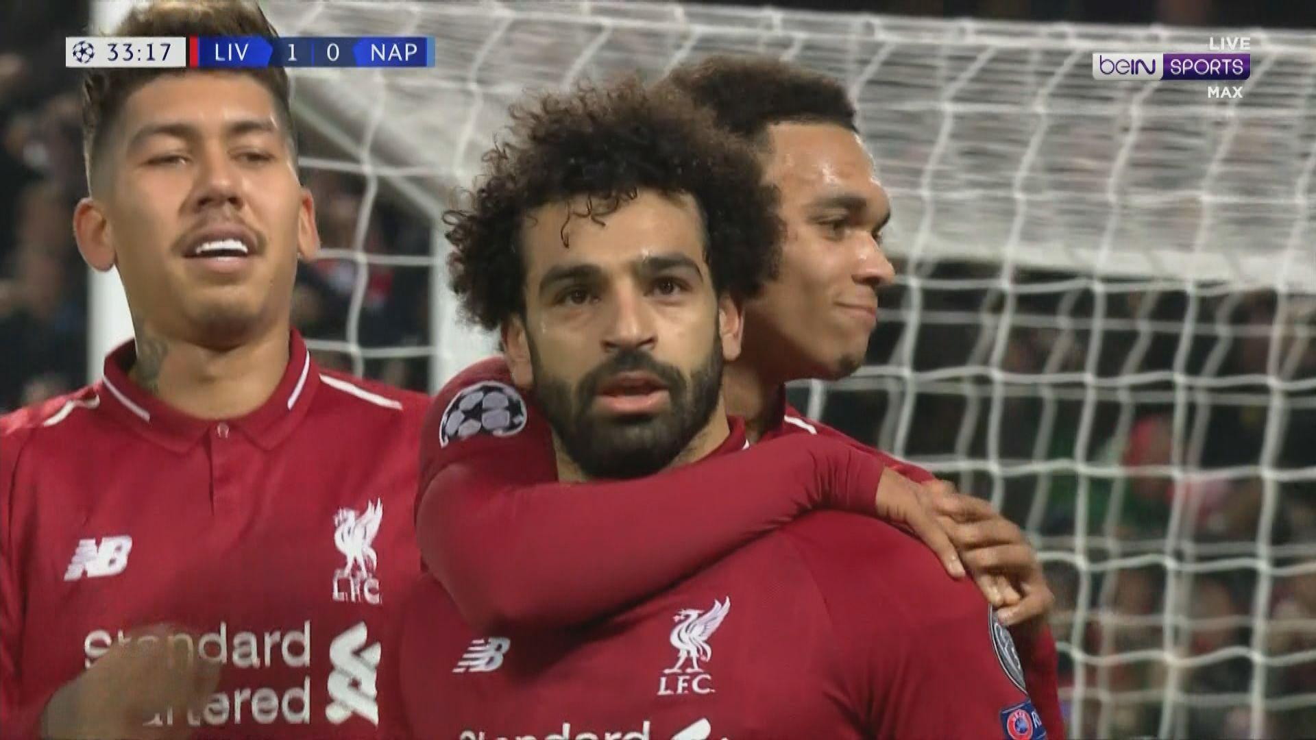 歐聯C組 利物浦1:0拿玻里