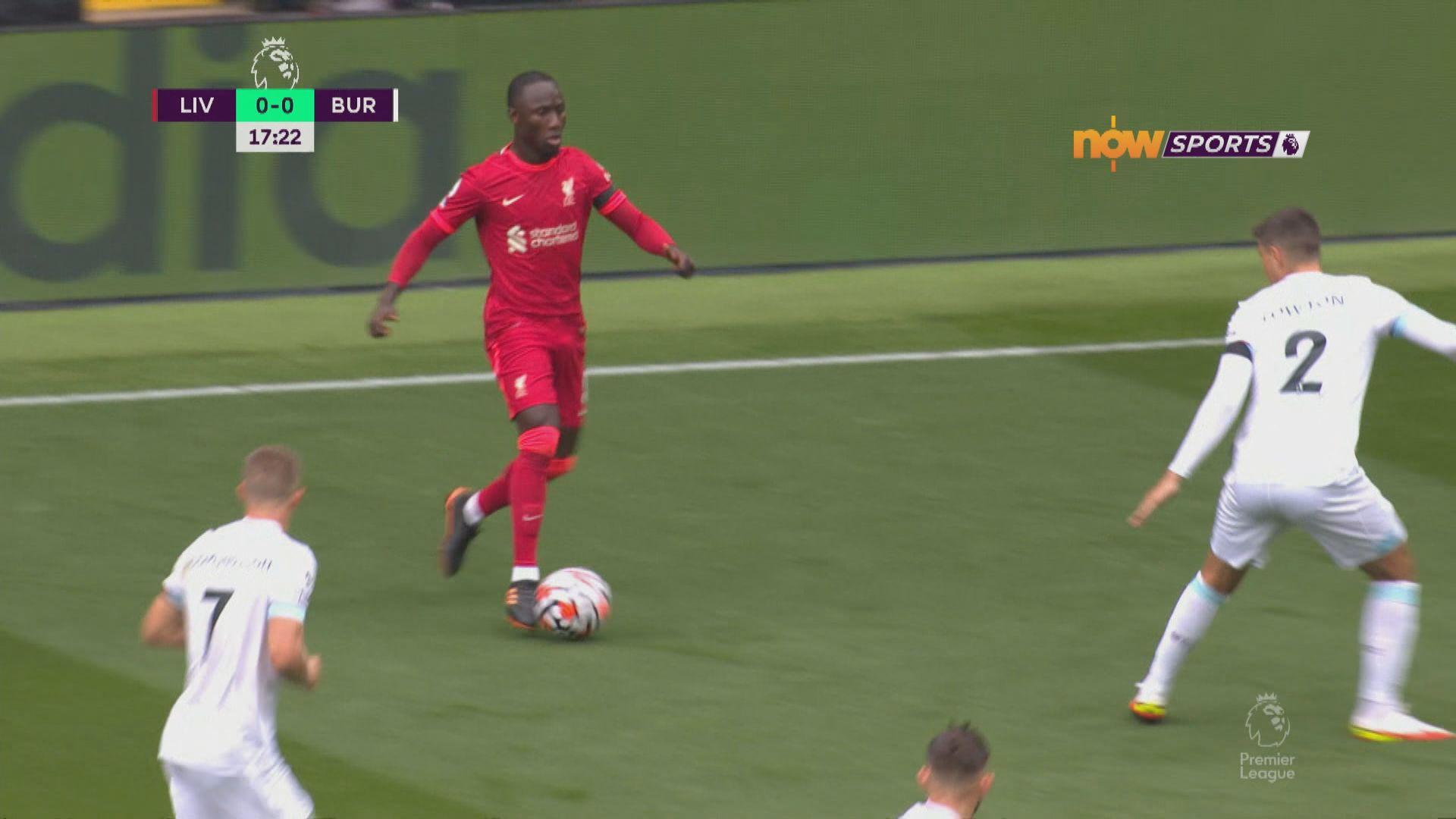 英超 利物浦2:0般尼