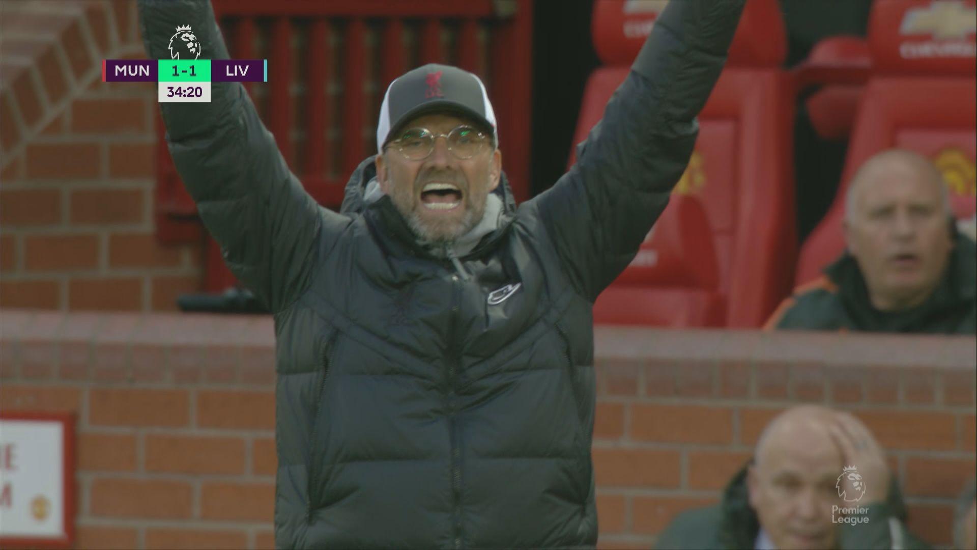 英超 曼聯2:4利物浦