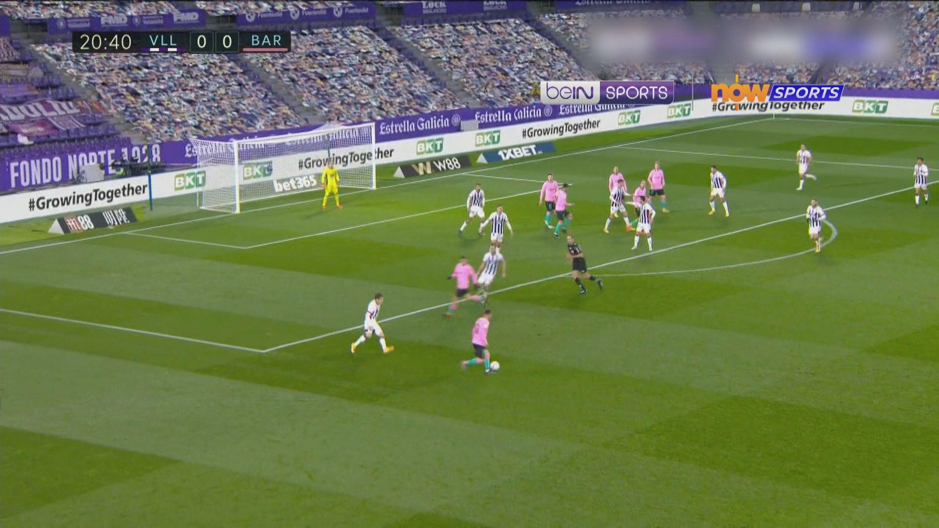 西甲 華拉度列0:3巴塞羅那