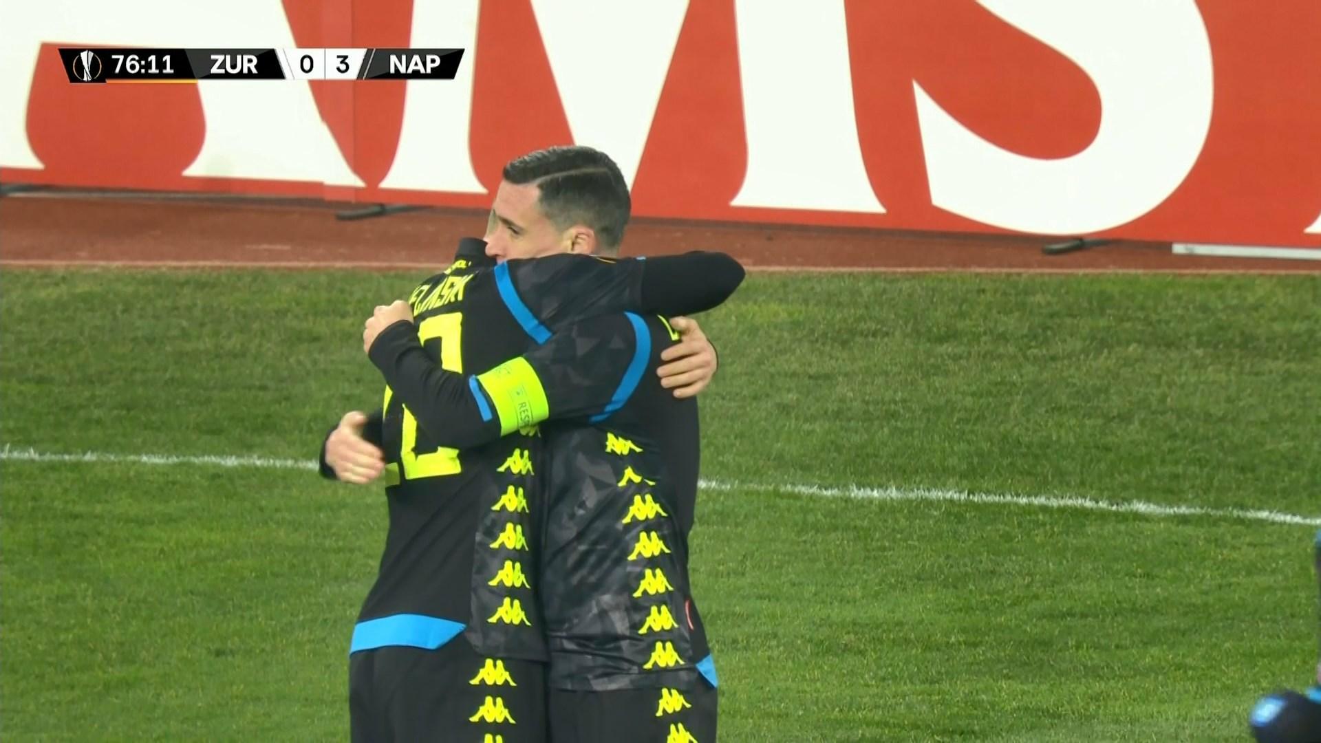 歐霸盃 拿玻里3:1蘇黎世