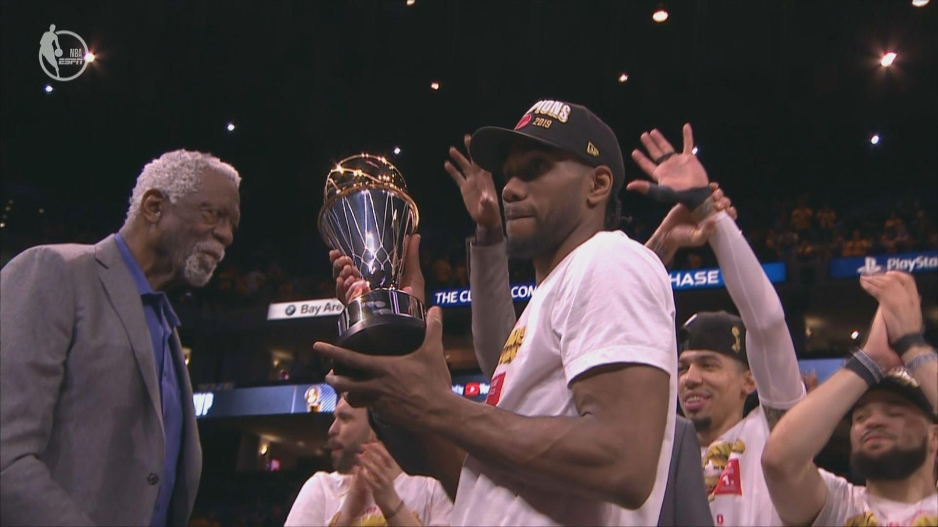 NBA總決賽 李安納當選MVP