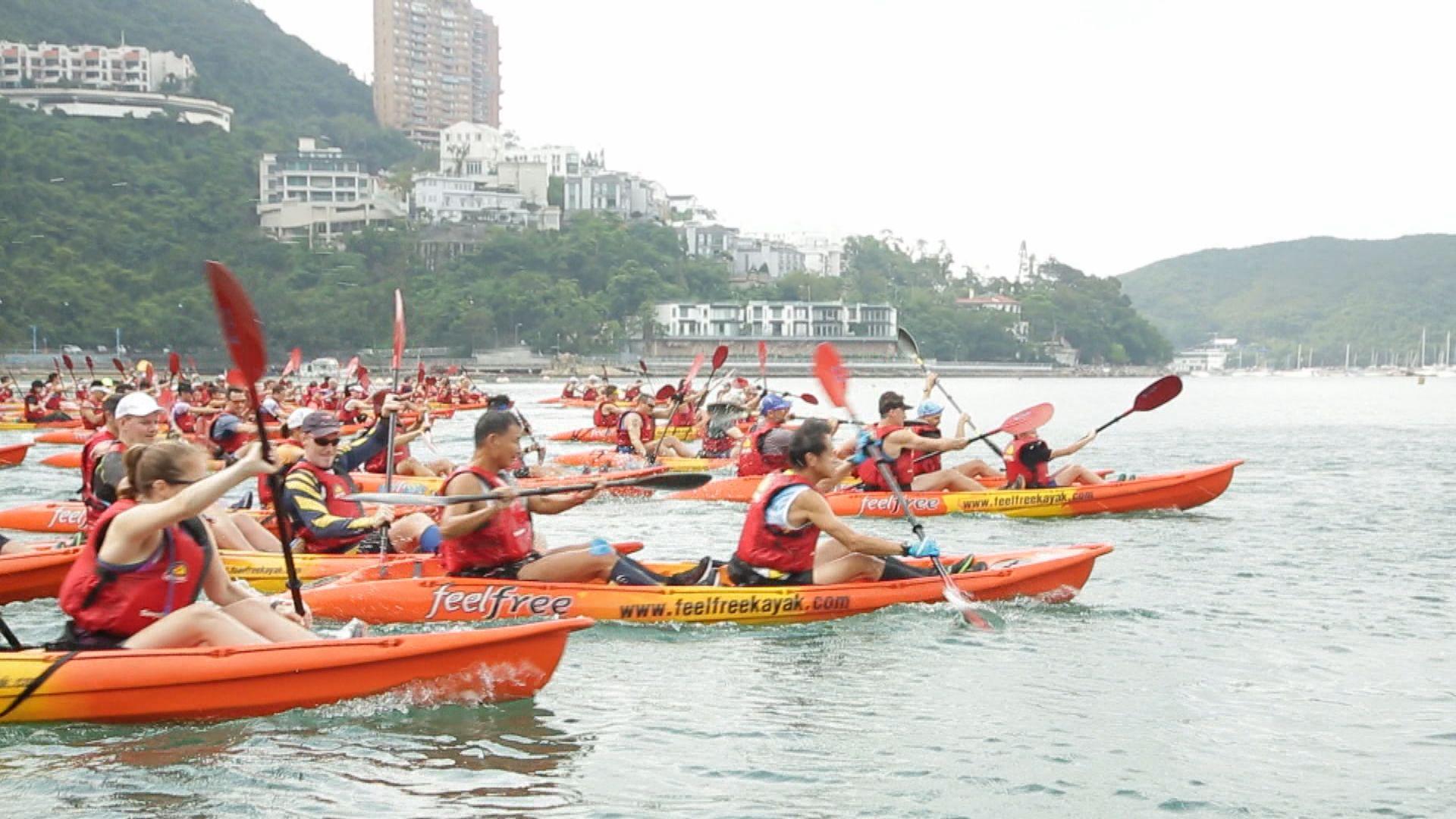 新一屆獨木舟及越野跑系列賽展開