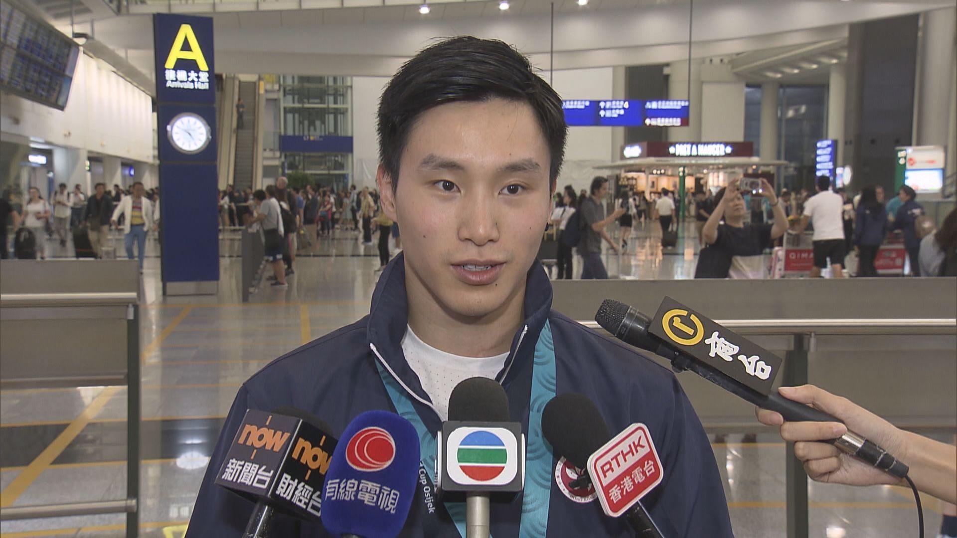 石偉雄奪兩站世界盃金牌凱旋