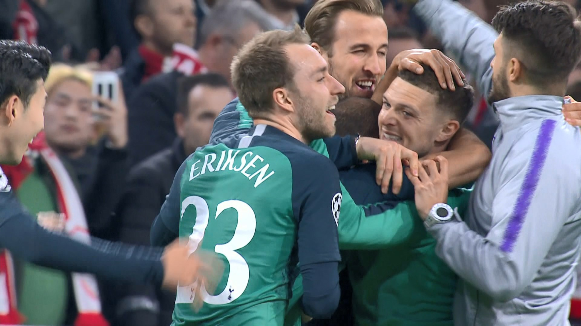 歐聯四強 熱刺憑作客入球優惠歷史性晉級