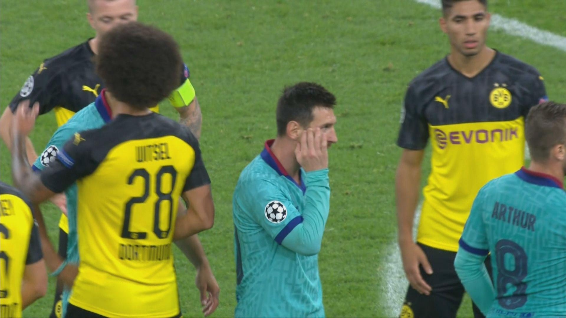 歐聯 多蒙特0:0巴塞羅那