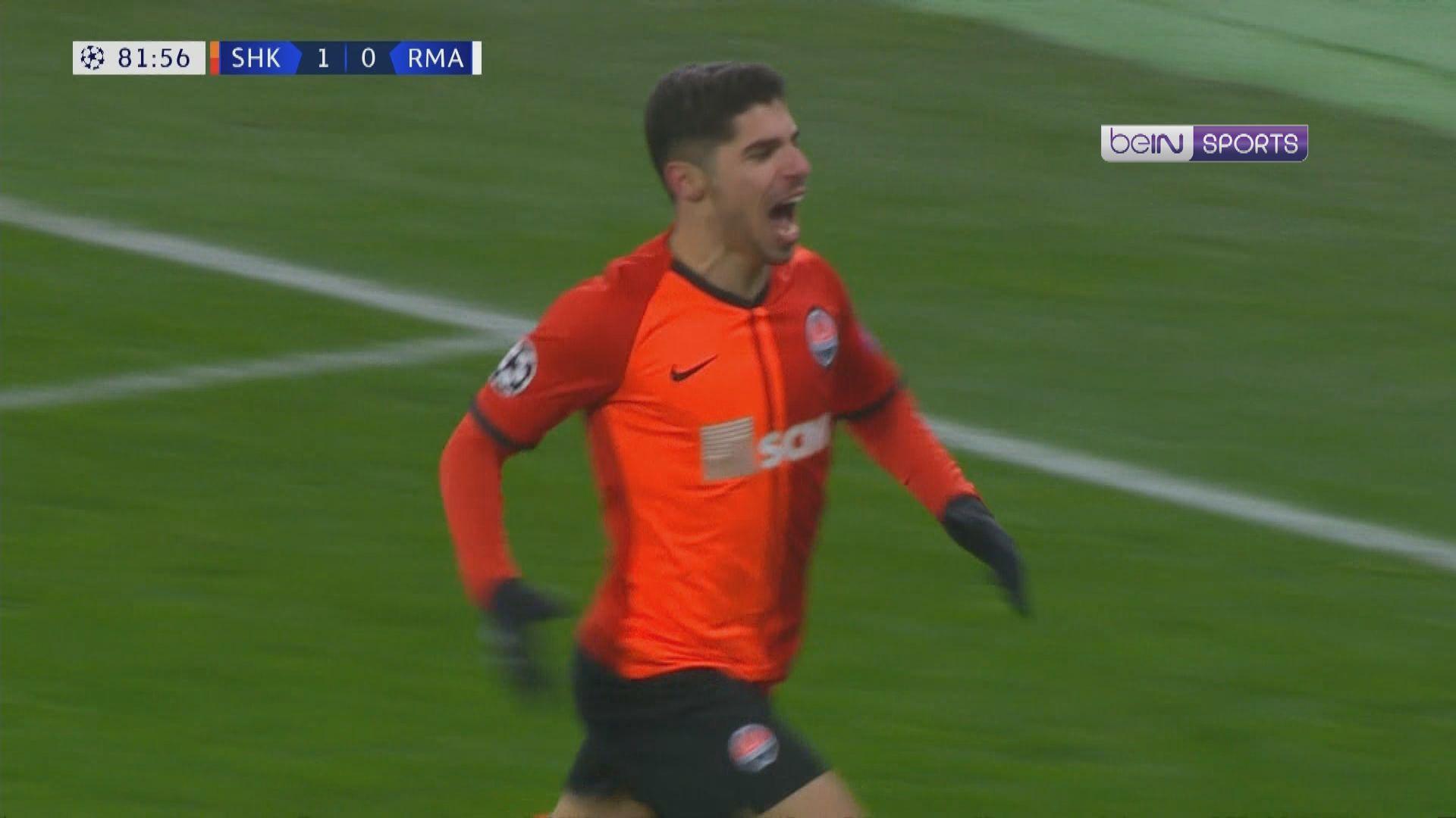 歐聯 薩克達2:0皇家馬德里