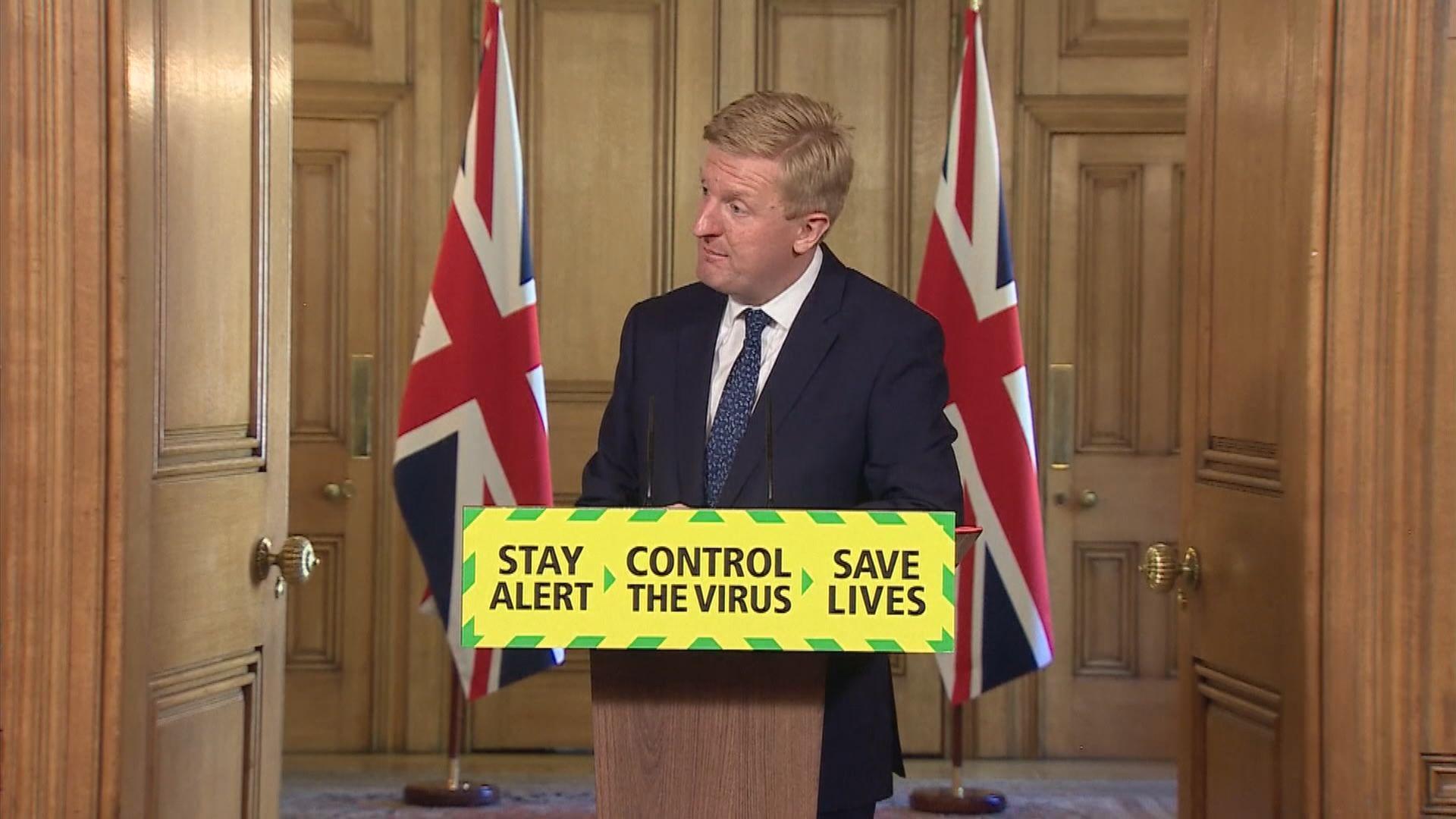 英國政府同意競賽運動6月1日回歸