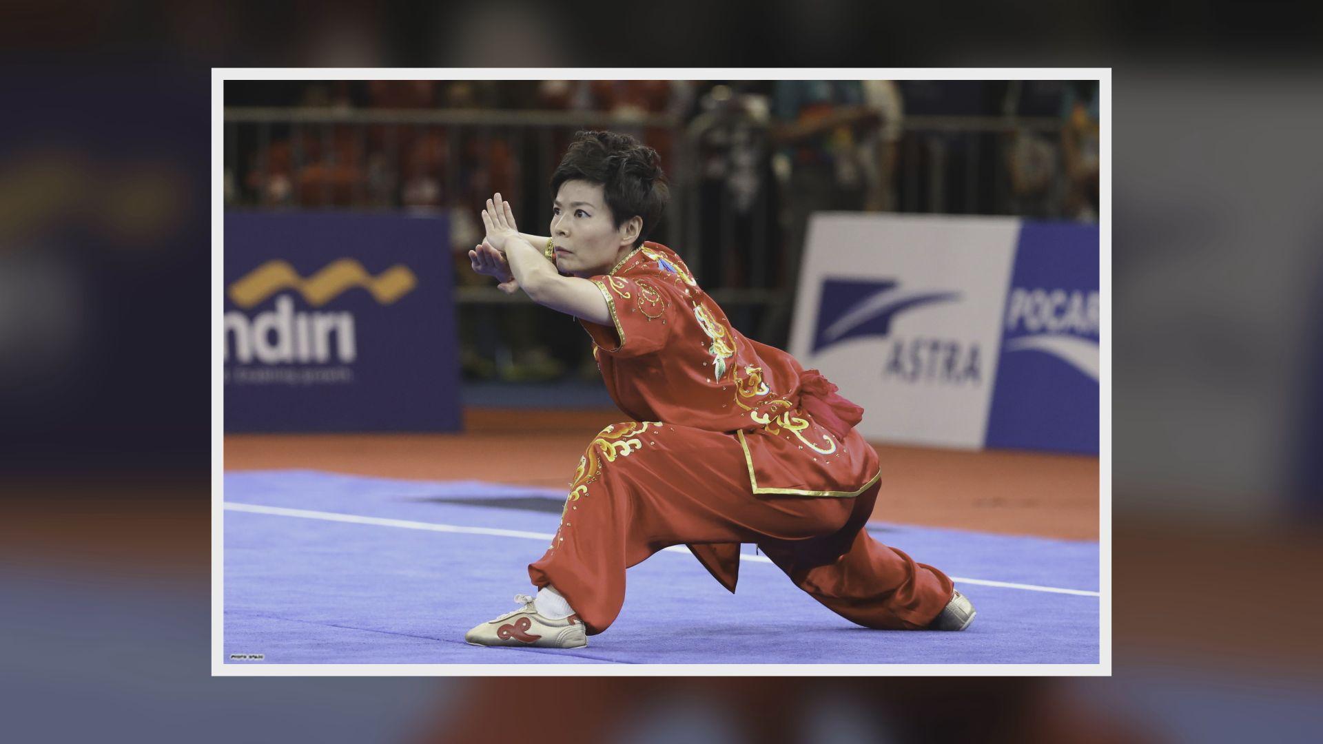 亞運會 耿曉靈女子長拳得第五名